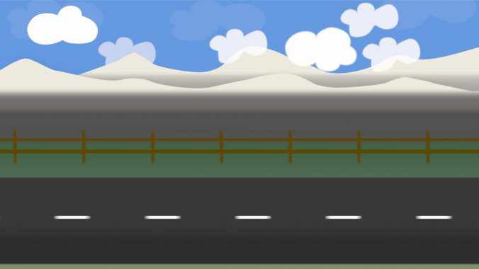 cartoon road scenemade with motion 5 the stringbox free clip art mountains & lakes free clip art mountains illustrations