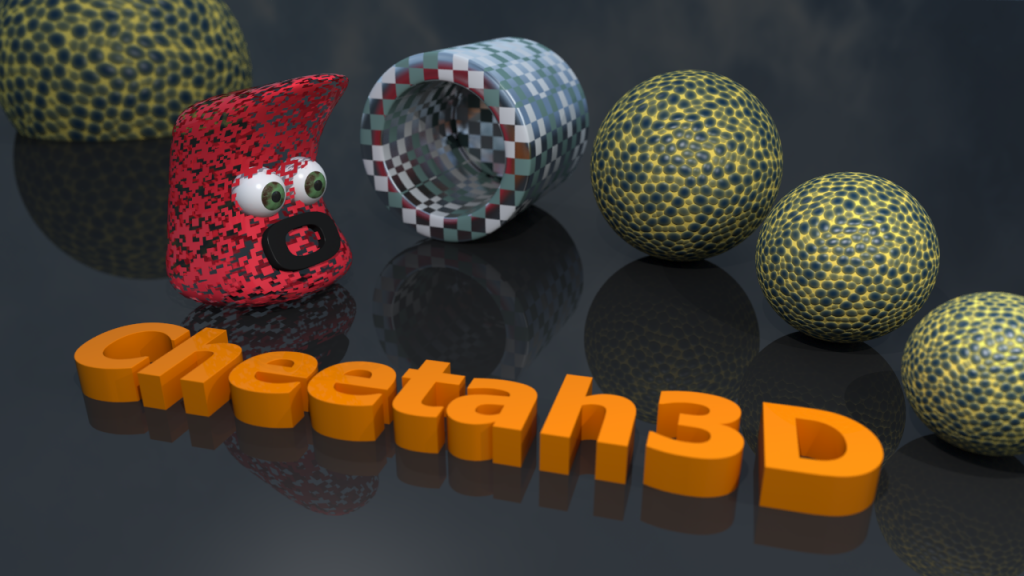 Cheetah3D Render